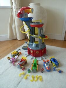 PAW Patrol Mighty Pups Lookout Tower Inc might pups vehicles with sounds