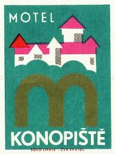 TRAVEL TOURISM KONOPISTE HOTEL PRAGUE CZECH REPUBLIC ART POSTER PRINT LV4208