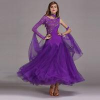 2017 NEW Ladies Modern Waltz Tango Latin Ballroom Competition Dance Dress #HB194