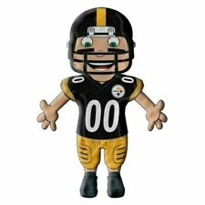 """NEW NFL Pittsburgh Steelers Character Cloud Player Buddy Pillow 28"""" x 10"""""""