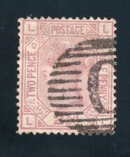 QV Used Abroad Sg 141 plate 12 ( L L ) with C pmk of Constantinople.