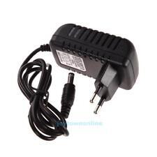 AC 100-240V Converter Adapter DC 5.5 x 2.5MM 6V 1A 1000mA Charger EU Plug Black