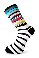 Frederick Thomas multicolor rayas hombre Calcetines ft4045