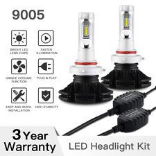 9005 Philips ZES LED Headlight HB3 Bulbs Conversion Kit High Low Beam Fog Light