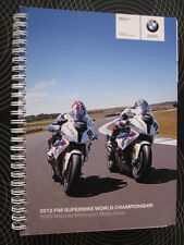 2012 FIM Superbike World Championship BMW Motorrad Motorsport Media Guide