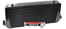 """Aluminium Intercooler with 3"""" Inlet/Outlets 600 x 300 x 100mm AF90-1004BLK"""