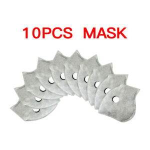 20/50pcs Pm2.5 Replaceable Protection Filter Activated Carbon Filter Outdoor US