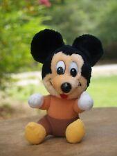 "Mickey Plush Figure Disney's Mickey's Christmas Carol 6""  Stuffed"