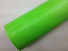 3D Carbon Fiber Vinyl Car Wrap Sheet Roll Film Sticker Decal All Size/Colours UK