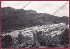 GENOVA RAPALLO ROSSIGLIONE 10 COTONIFICIO FABBRICA Cartolina FOTOGR. viagg. 1962