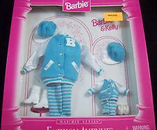 New Barbie Doll Matchin' Styles Barbie & Kelly Sport Sets Fashion Avenue CUTE!