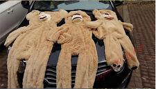 100CM Brown Big Teddy Bear Skin Plush Toy American Bear Cover Bearskin Case Gift