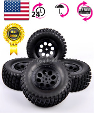 4X RC 1:10 Short Course Truck 12mm Hex Tires&Wheel 107mm For TRAXXAS SlASH Car