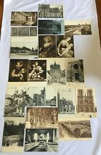 More details for vintage job lot postcards from late 1800's early 1900's paris leipzig van dyck