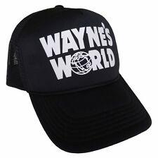 Wayne's World Trucker Hat Halloween costume Wayne Mesh Cap waynes world cosplay