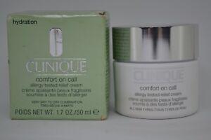 Clinique Comfort on Call Allergy Tested Relief Cream BNIB 50ml/1.7fl.oz.