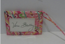 VERA BRADLEY Retired Patter CAPRI MELON Pinks Luggage Tag ID Wallet