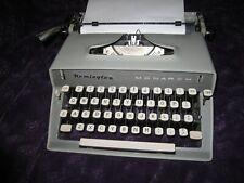 Vintage 1963 Remington Monarch Typewriter w/ Original Receipt and paperwork