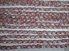 AL556 CZECH 6x4mm Glass RICE Beads-LUSTER PINK TOPAZ-50