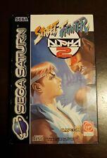 Street Fighter Alpha 2 Sega Saturn Pal