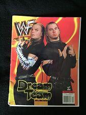 MATT & JEFF HARDY SIGNED WWE MAGAZINE
