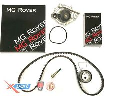 MGTF / MGF CAMBELT / TIMING BELT KIT AUTO TENSIONER INC WATER PUMP GENUINE MG