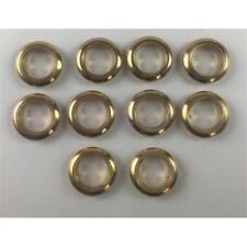 10 x Brass Glazed Portholes 8mm For Model Boats
