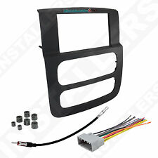 95-6522B Double Din Radio Install Dash Kit & Wires for Ram, Car Stereo Mount
