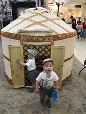 Yurt Style playhouse tent (tipi/tepee/teepee/lavvo/ger) for kids