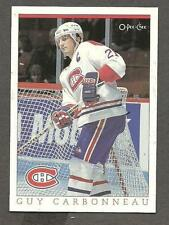 1993 OPC Fanfest Puck Canadiens' Guy Carbonneau