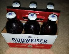 Budweiser 6 pk.Freedom Reserve Empty Beer Bottles,Lim. Edit,w/6 Caps & Carrier