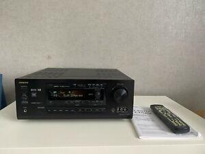ONKYO TX-DS777 AV-Receiver THX Dolby Digital DTS 5.1 FB RC-392M vintage Bolide