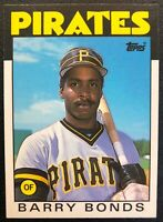 BARRY BONDS 1986 TOPPS TRADED ROOKIE CARD #11T (B)