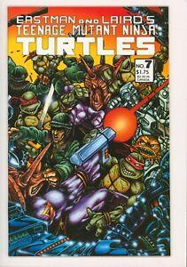 Teenage Mutant Ninja Turtles #7, NM, Origin of the TMNT, 1986, Eastman and Laird