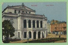 "Vintage Foreign Postcard ""Bucuresti Teatrul National"""