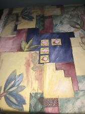 Tissu d'ameublement épais, printed in England larg 140 cm x H 340 cm réf 826