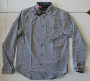 Under Armour Men's Chambray Flannel Long Sleeve Button Up Shirt NWT!!!