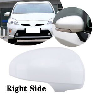 FOR 2010-2012 TOYOTA PRIUS PRIUS RIGHT SIDE REAR MIRROR COVERS COVER W/ SIGNAL