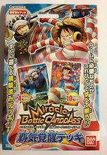 Deck One Piece Miracle Battle Carddass OPS06