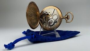 Elgin National Watch Co. Men's Antique Pocket Watch 17 Jewels