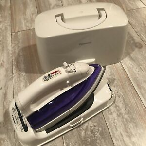 Panasonic NI-L45NR Cordless Steam/Dry Iron Stainless Steel Soleplate W/ Case