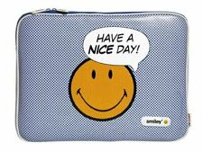 """SMILEY HAVE A NICE DAY MACBOOK PRO SLEEVE 15"""" PROTECTIVE CASE COVER"""