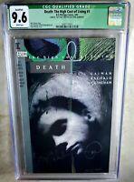 Death The High Cost of Living #1 SIGNED DC Vertigo 1993 CGC 9.6 NM+ Comic K0168
