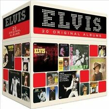 Elvis Presley 20 ORIGINAL ALBUMS BOX SET Perfect Collection NEW SEALED 20 CD