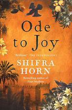 Very Good, Ode To Joy, Horn, Shifra, Book
