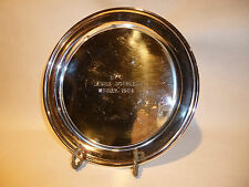 Vintage Trophy Tennis Silver Plate Eastern Yacht Club Marblehead Massachusetts