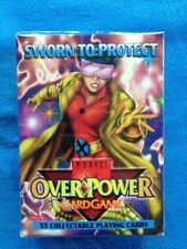"Overpower Marvel CCG Fleer Starter Deck ""Sworn to Protect"" - Factory sealed"