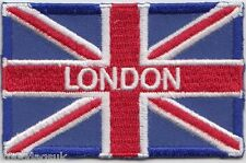 London City Union Jack Flag Embroidered Badge Patch