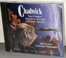 Reference Recordings CD RR-64: Chadwick, Tam O'Shanter - Serebrier - 1995 USA SS