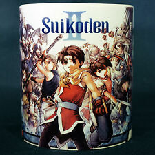 SUIKODEN 2 - Coffee MUG CUP - Konami - RPG - Anime - Gensuikoden 2 - Playstation